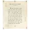 the velveteen rabbit canvas wall tarp