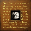 our family is a circle - photo box