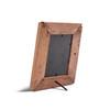 back of wood photo frame