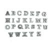 alphabet zinc letters