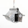 galvanized metal birdhouse