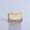 mercury glass candle - jewel box