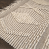 Diamond Fringe Bath Mat