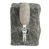black stone funky rock bottle dispenser