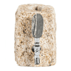tan stone funky rock bottle dispenser