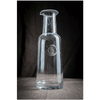 pewter initial wine decanter