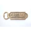 """gold bottle opener - """"Captain"""""""