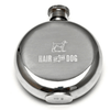 "stainless steel flask - ""hair of the dog"""