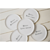 collection of hello series melamine plates