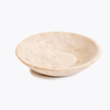shallow marble bowl