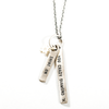 """sterling silver necklace with the quote """"shine on you crazy diamond"""""""