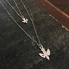 "Sterling Silver ""Baby Bird"" Necklace"