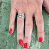 daydream believer ring on hand