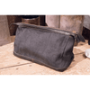 Grey Canvas Dopp Kit