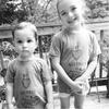kids wearing the my heart belongs to daddy shirt