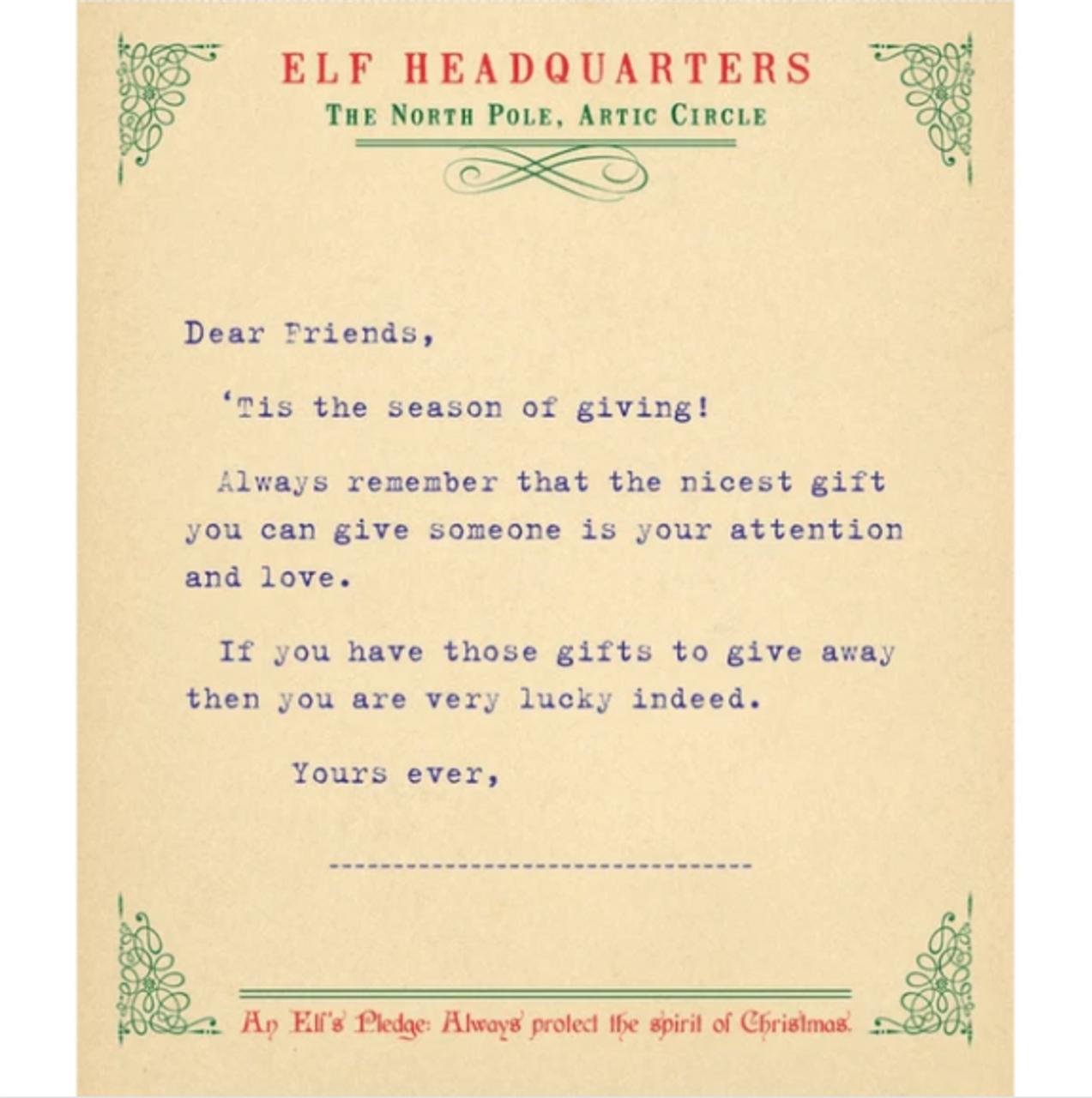 Elf Pad notepad