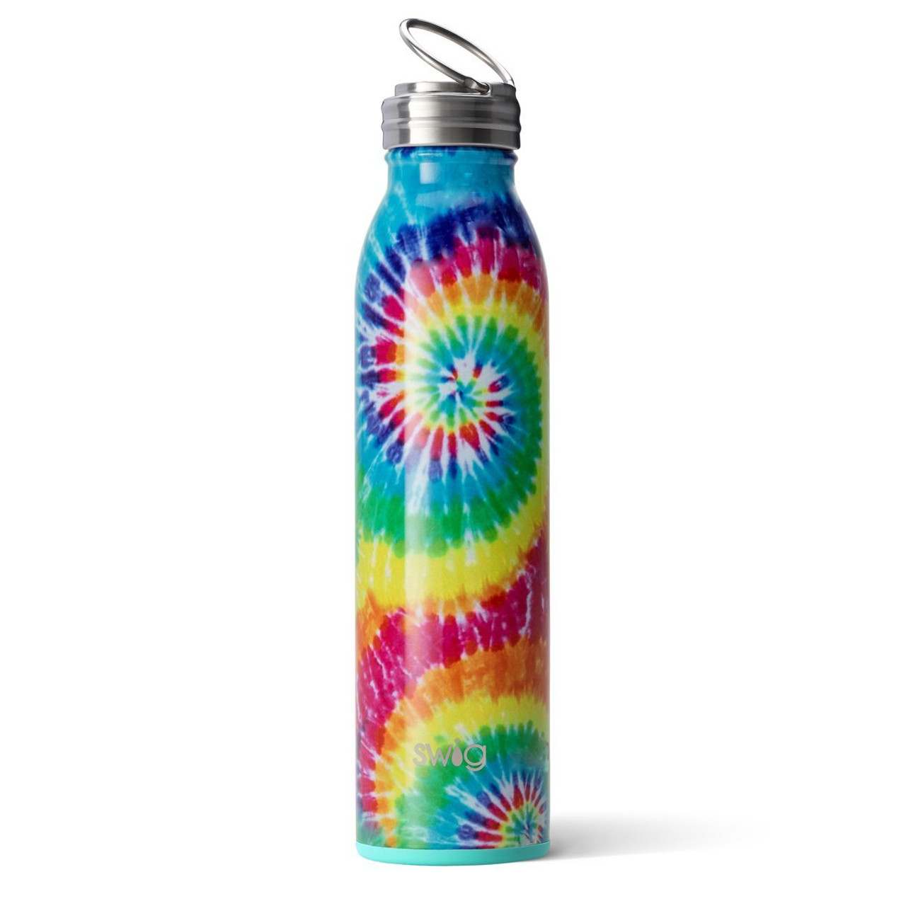 swirled peace bottle