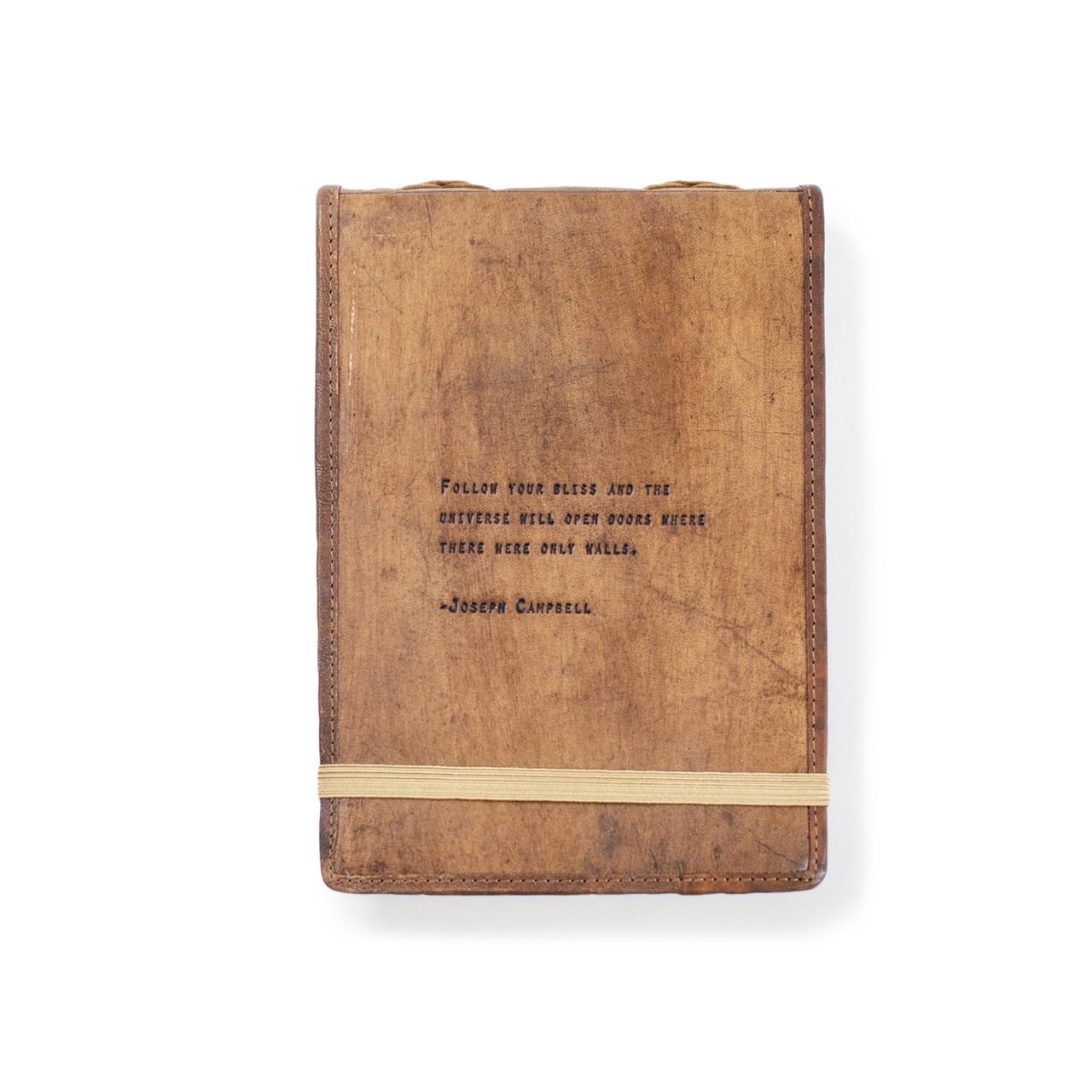 leather journal - joseph campbell