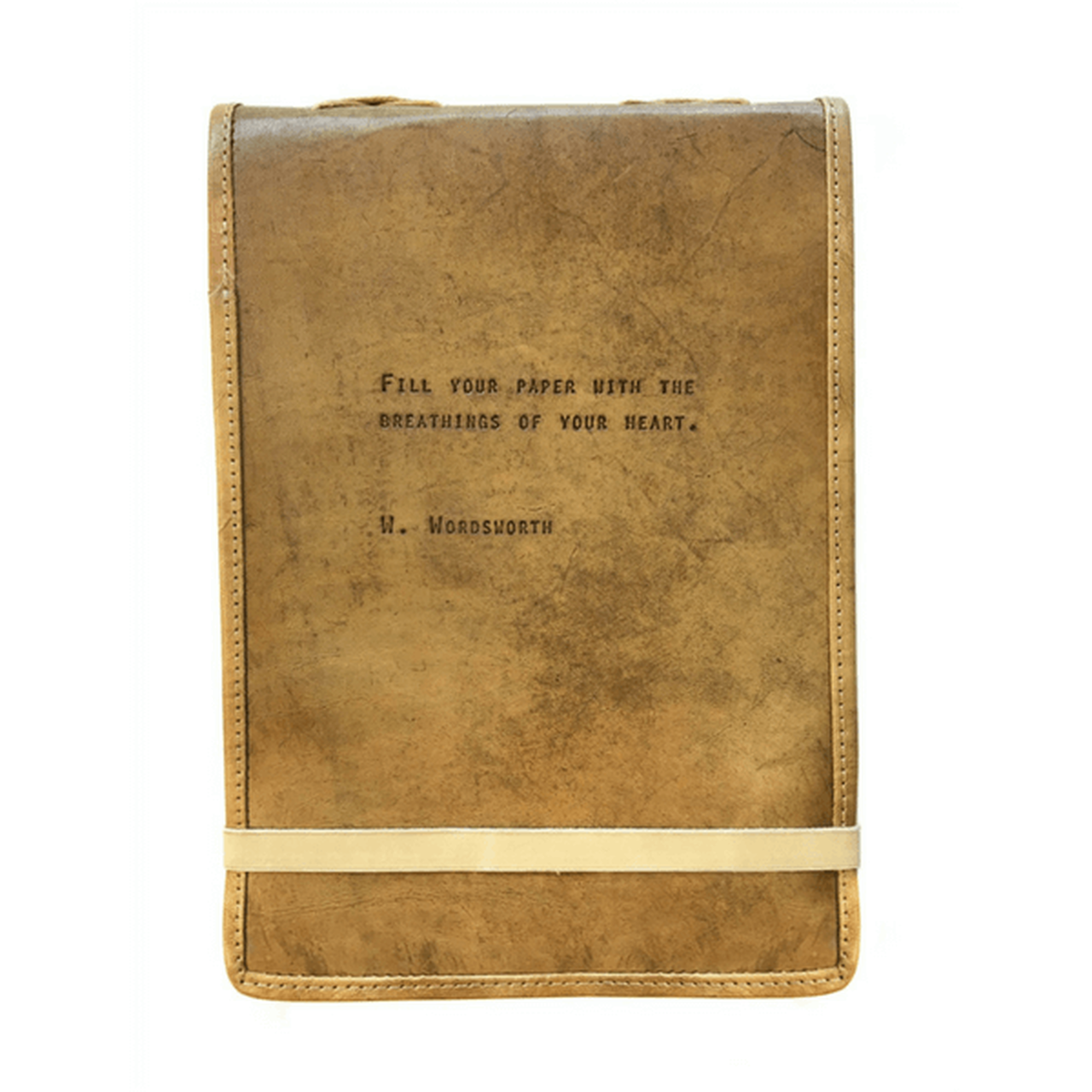 leather journal - fill your paper