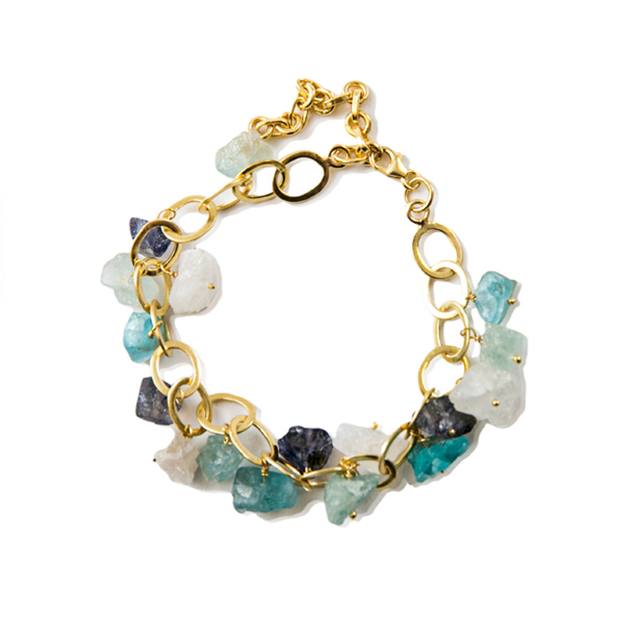 Apatite Dangle Bracelet
