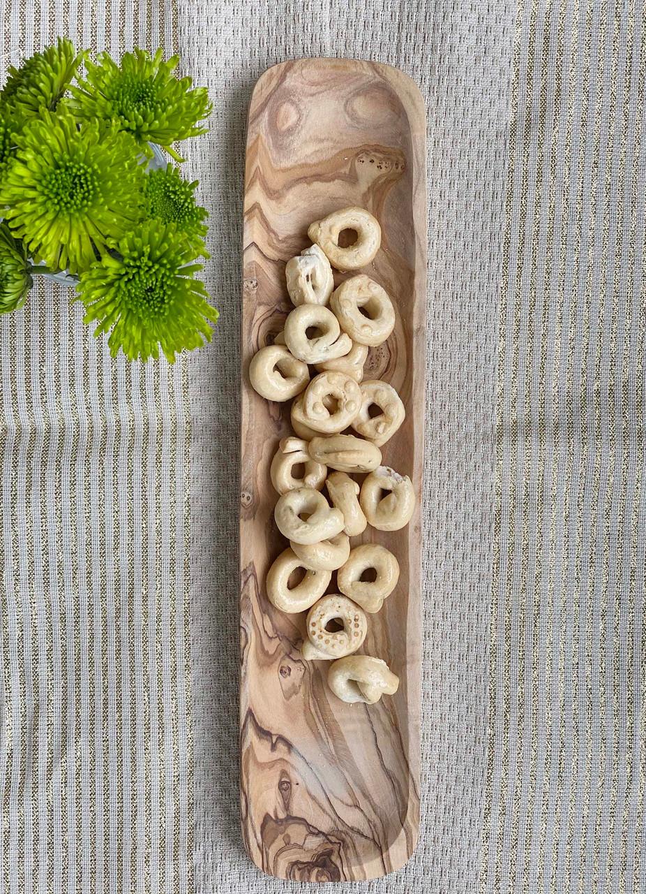 Olive Wood Rectangular Tapas Dish