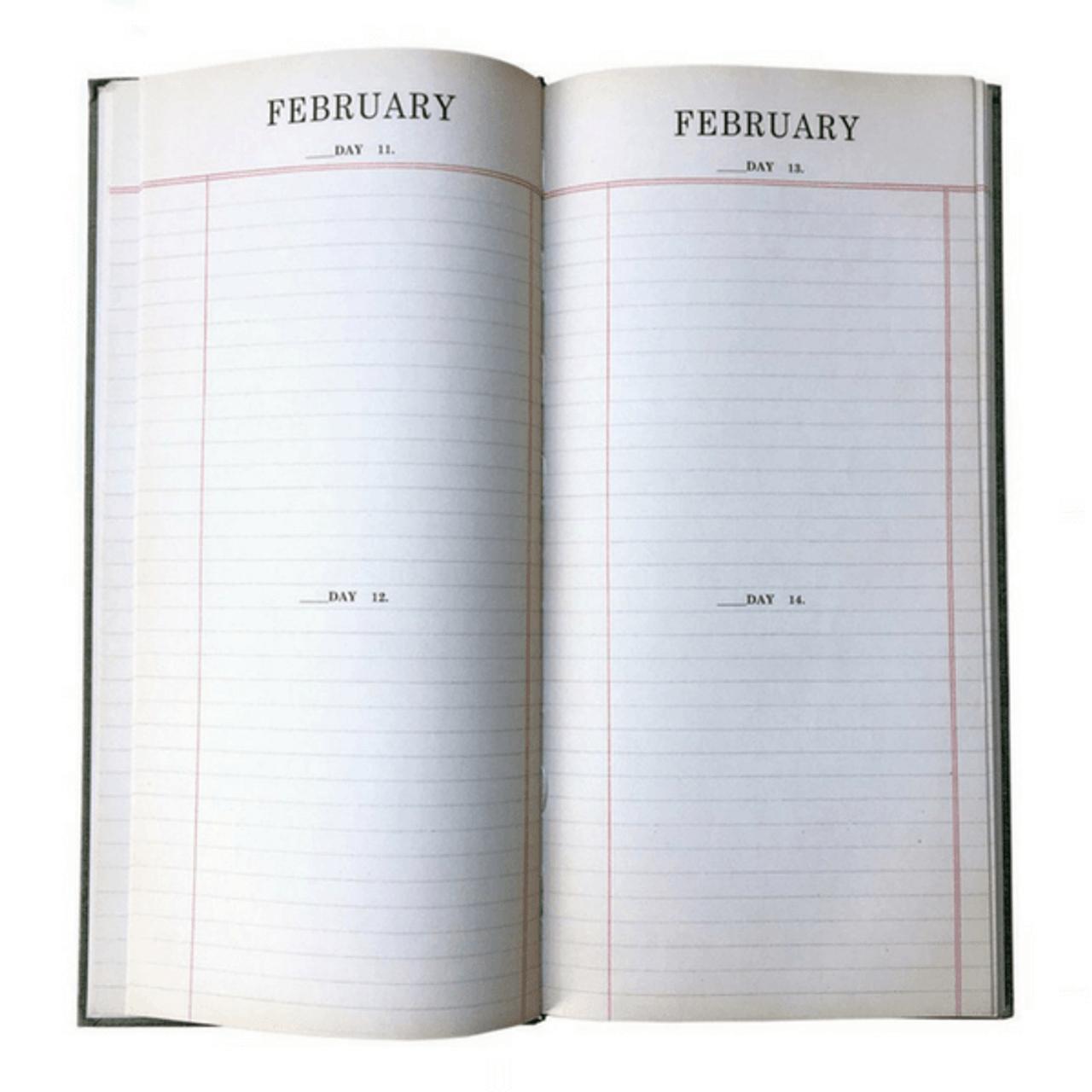 Perpetual Agenda Book