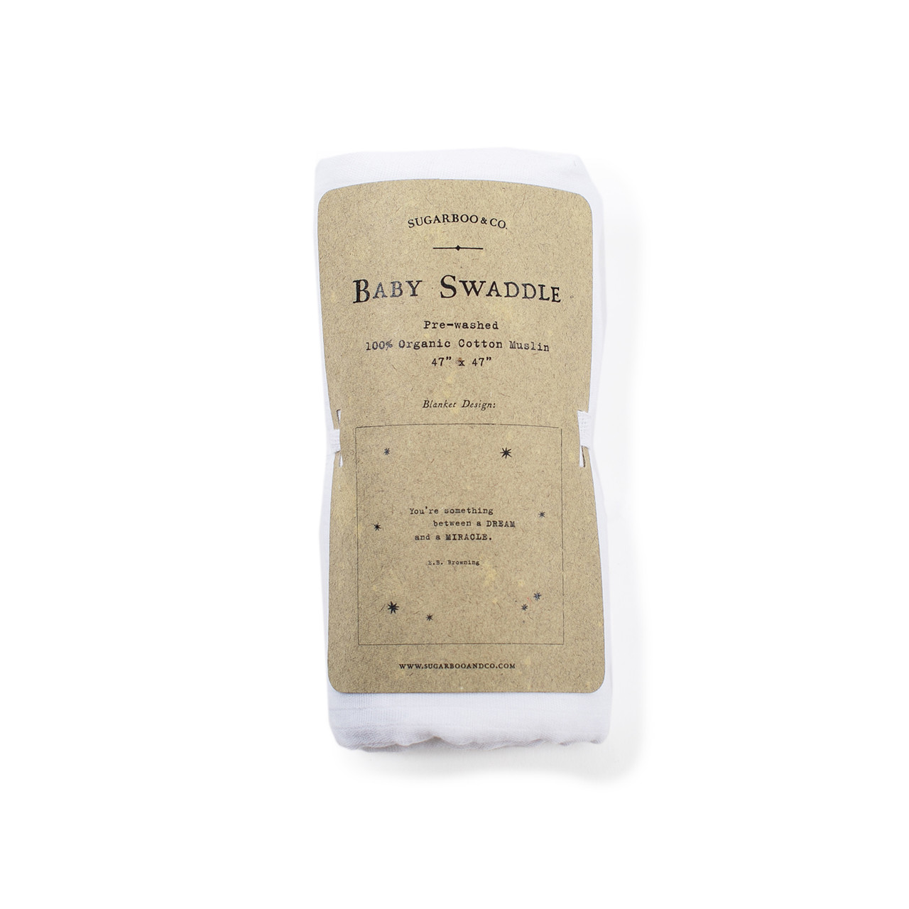baby swaddle - e.b. browning