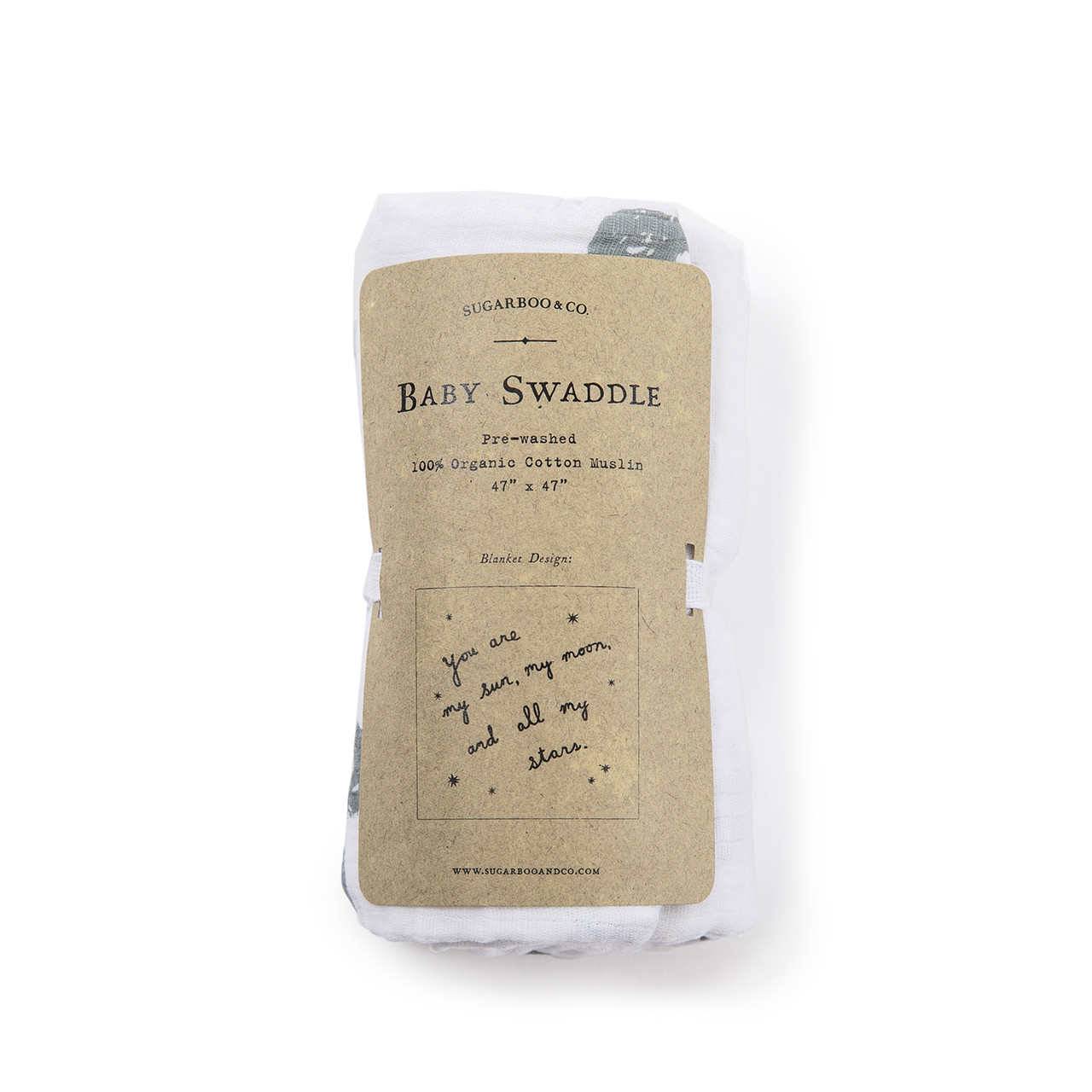 baby swaddle - you are my sun, my moon