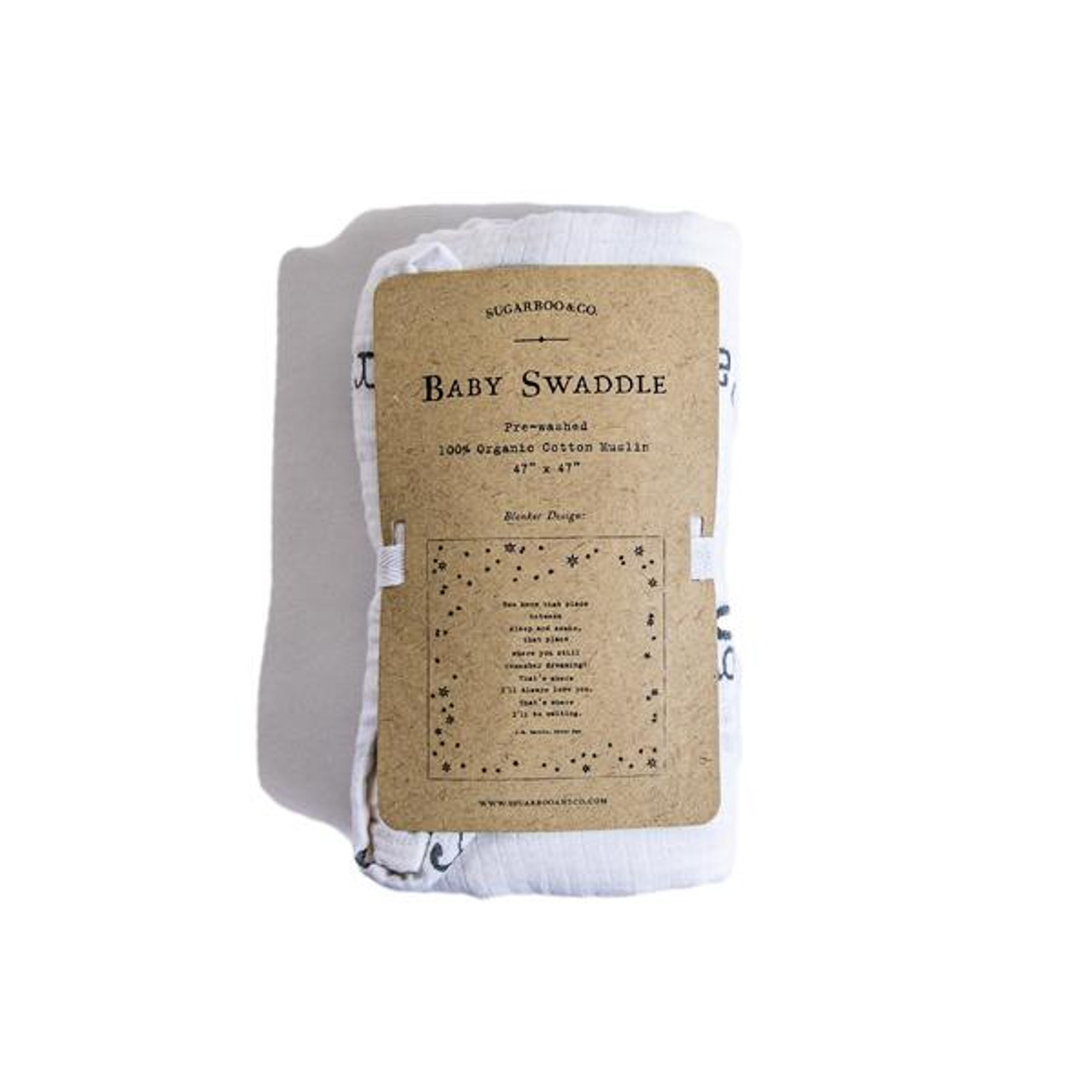 baby swaddle - peter pan
