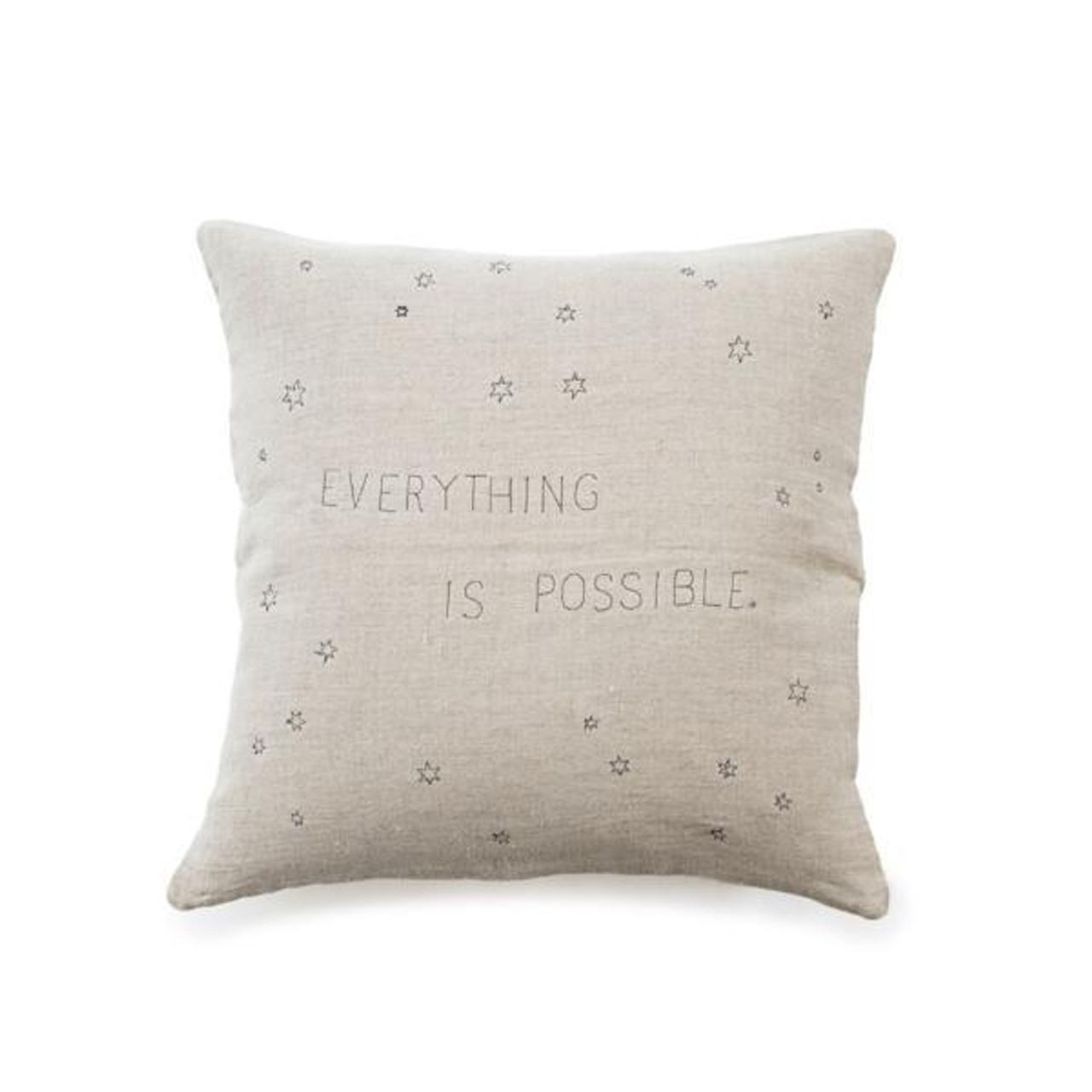 everything is possible pillow