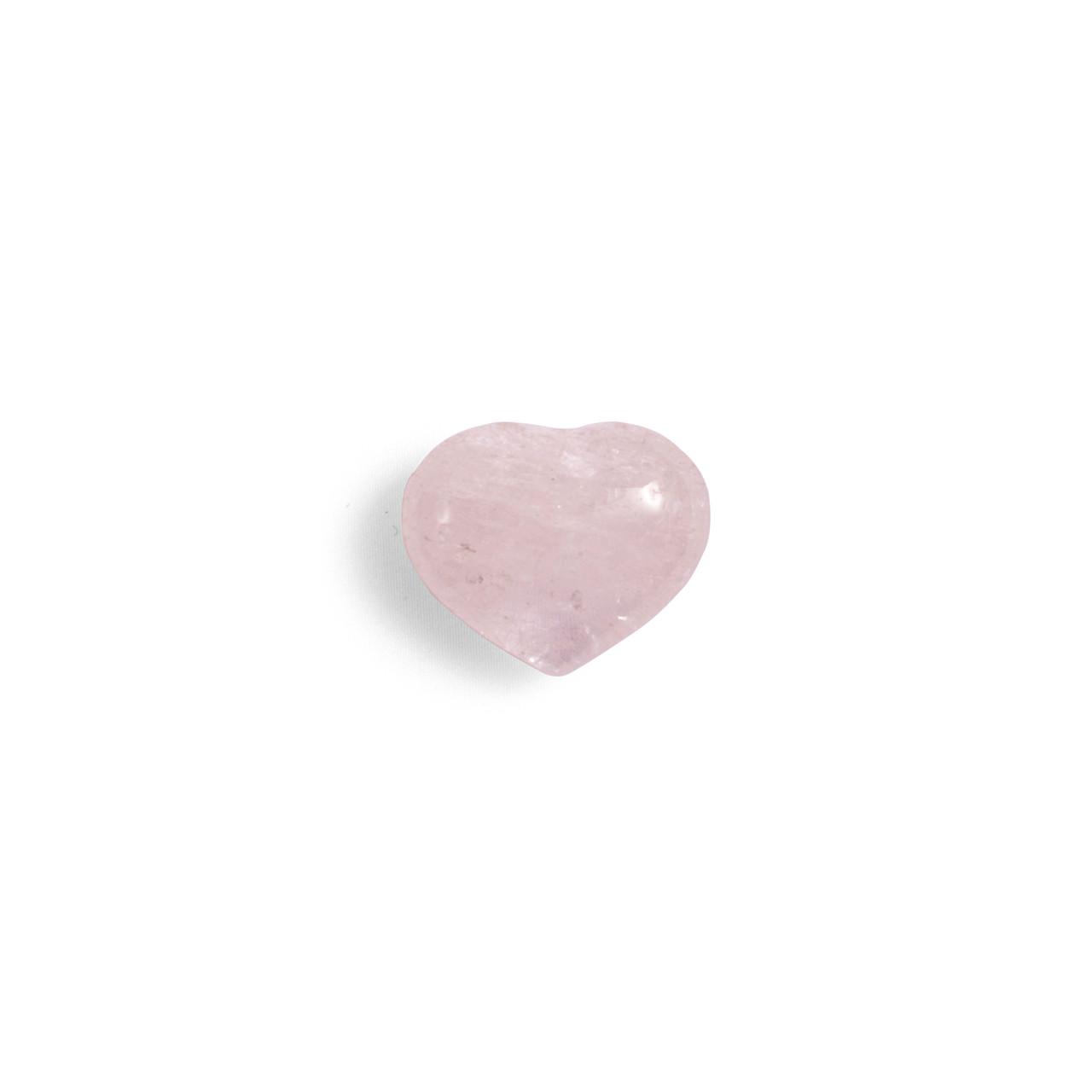 Clear Quartz Mini Heart Shaped Stone