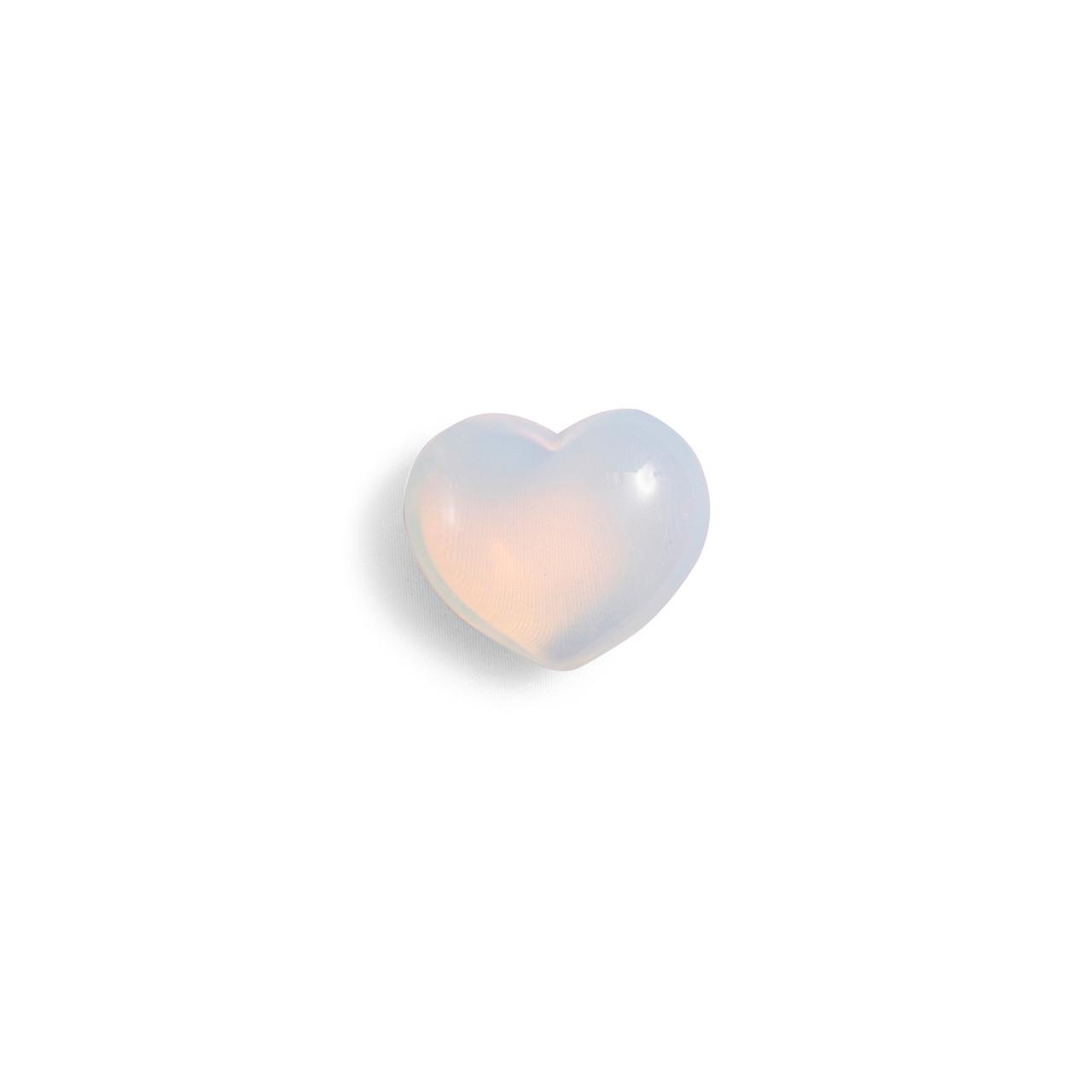 Opalite Mini Heart Shaped Stone