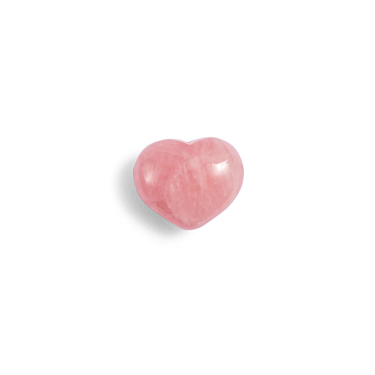 Rose Quartz Mini Heart Shaped Stone