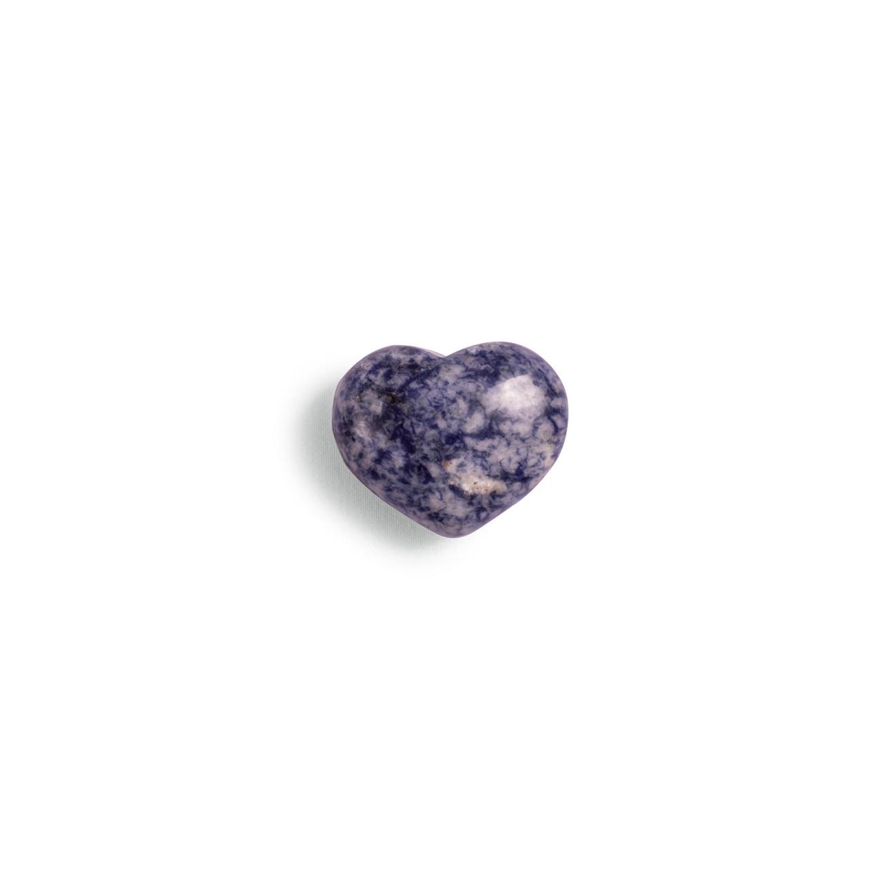 Sodalite Mini Heart Shaped Stone