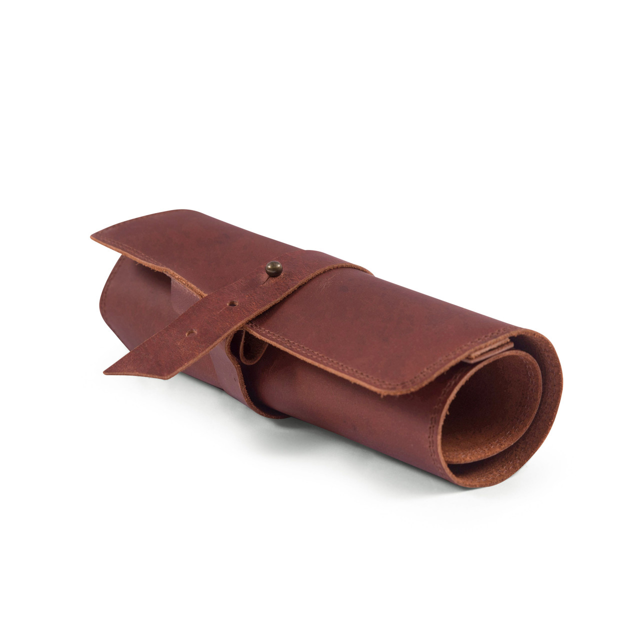 Leather Roll Up Pouch