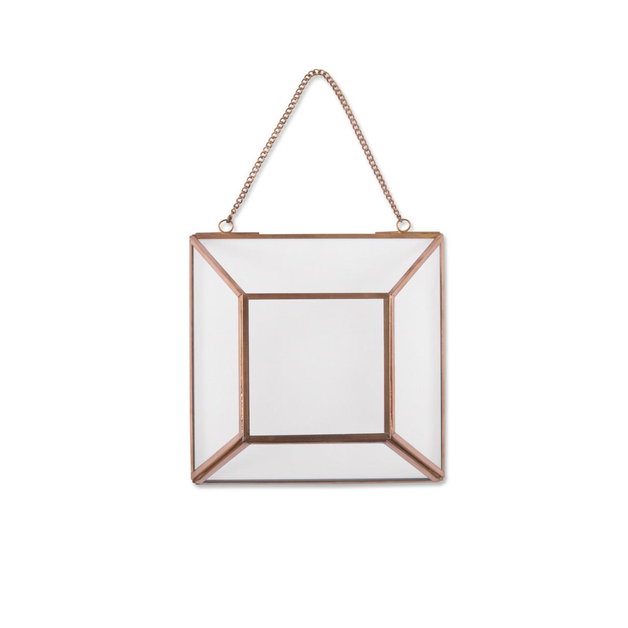 Square Hanging Glass Terrarium