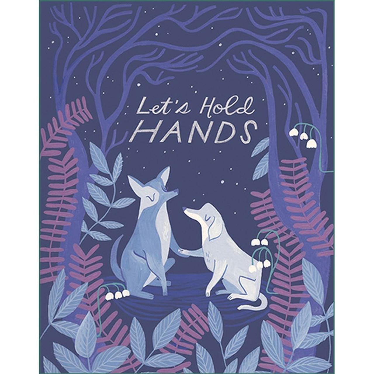 Let's hold hands Encouragement Card