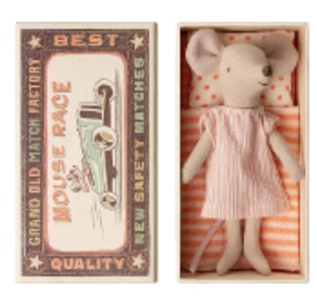 Big Sister Mouse in Box - pjs maileg MG-16973201