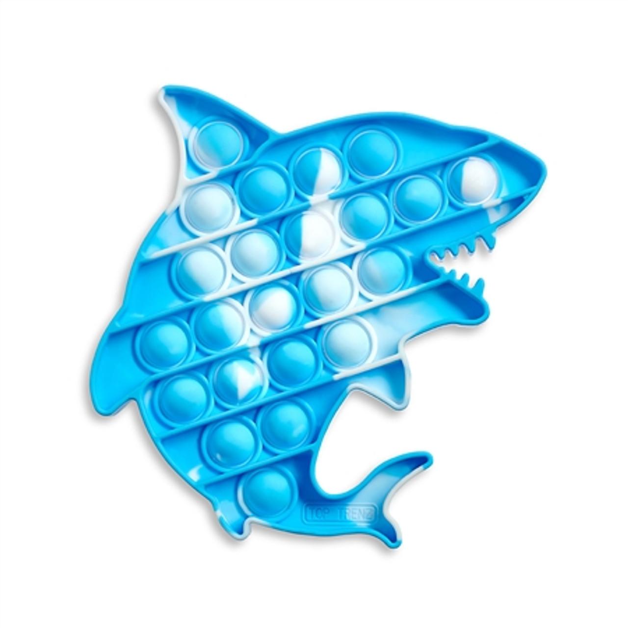 OMG Pop Fidgety - Tie-Dye Shark