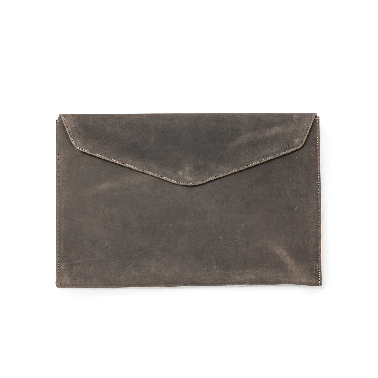 Ash Leather Laptop Case / Computer Sleeve