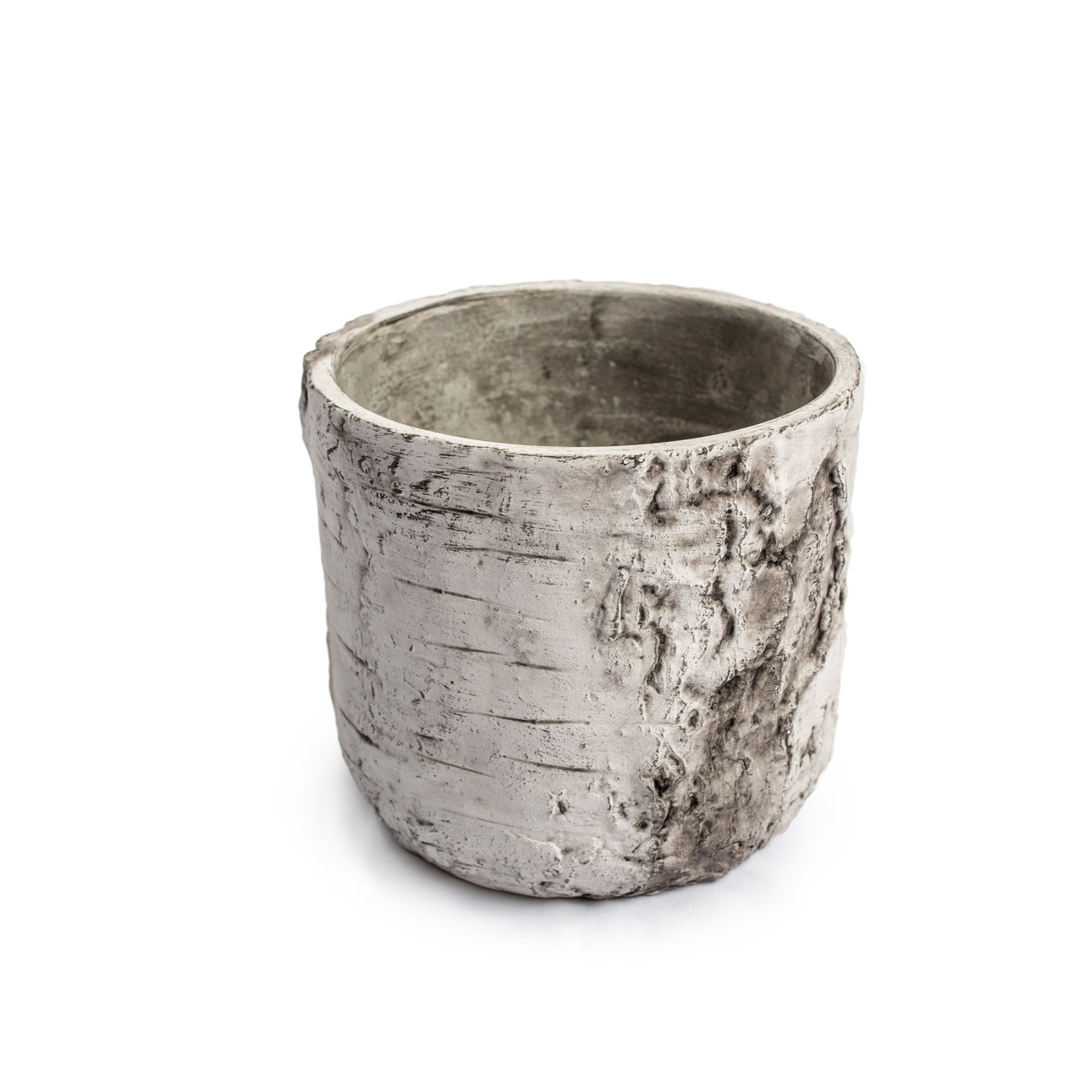 Medium Cement Pot with Rounded Bottom