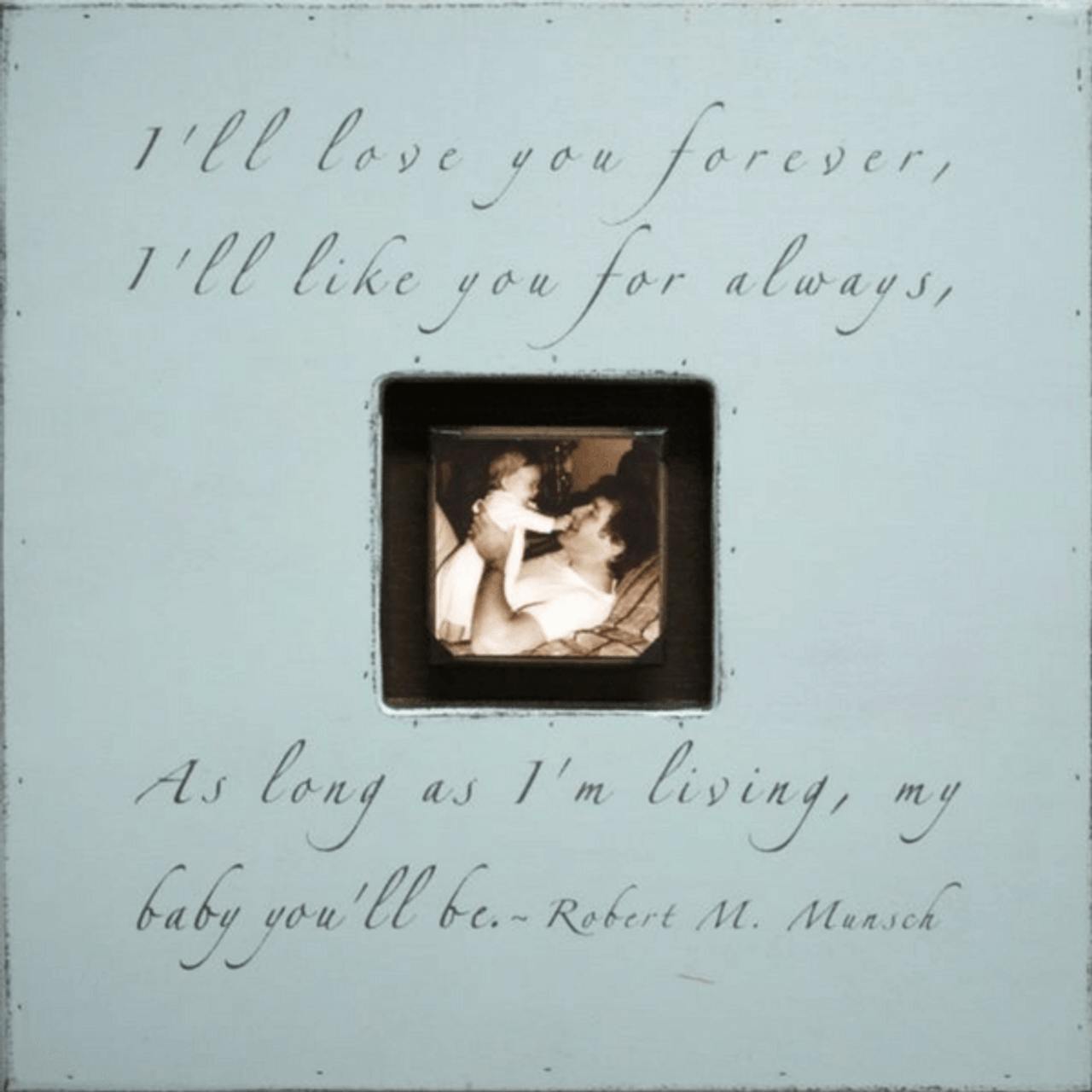 i'll love you forever - photo box
