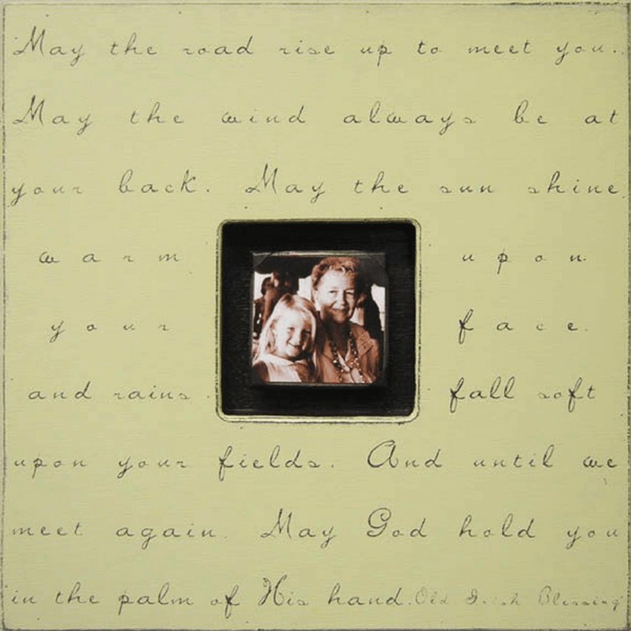 may the road - photo box