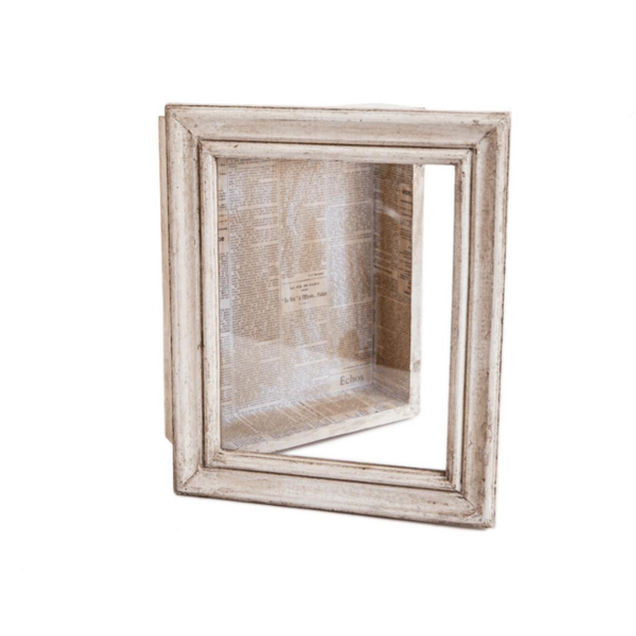 wood glass shadow box