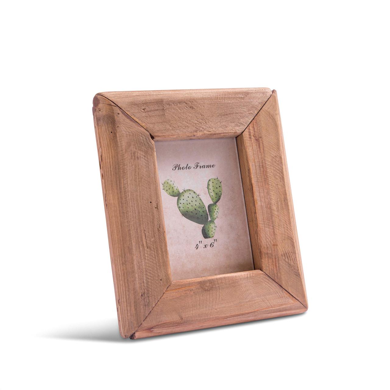 Medium Recycled Pine Wood Photo Frame