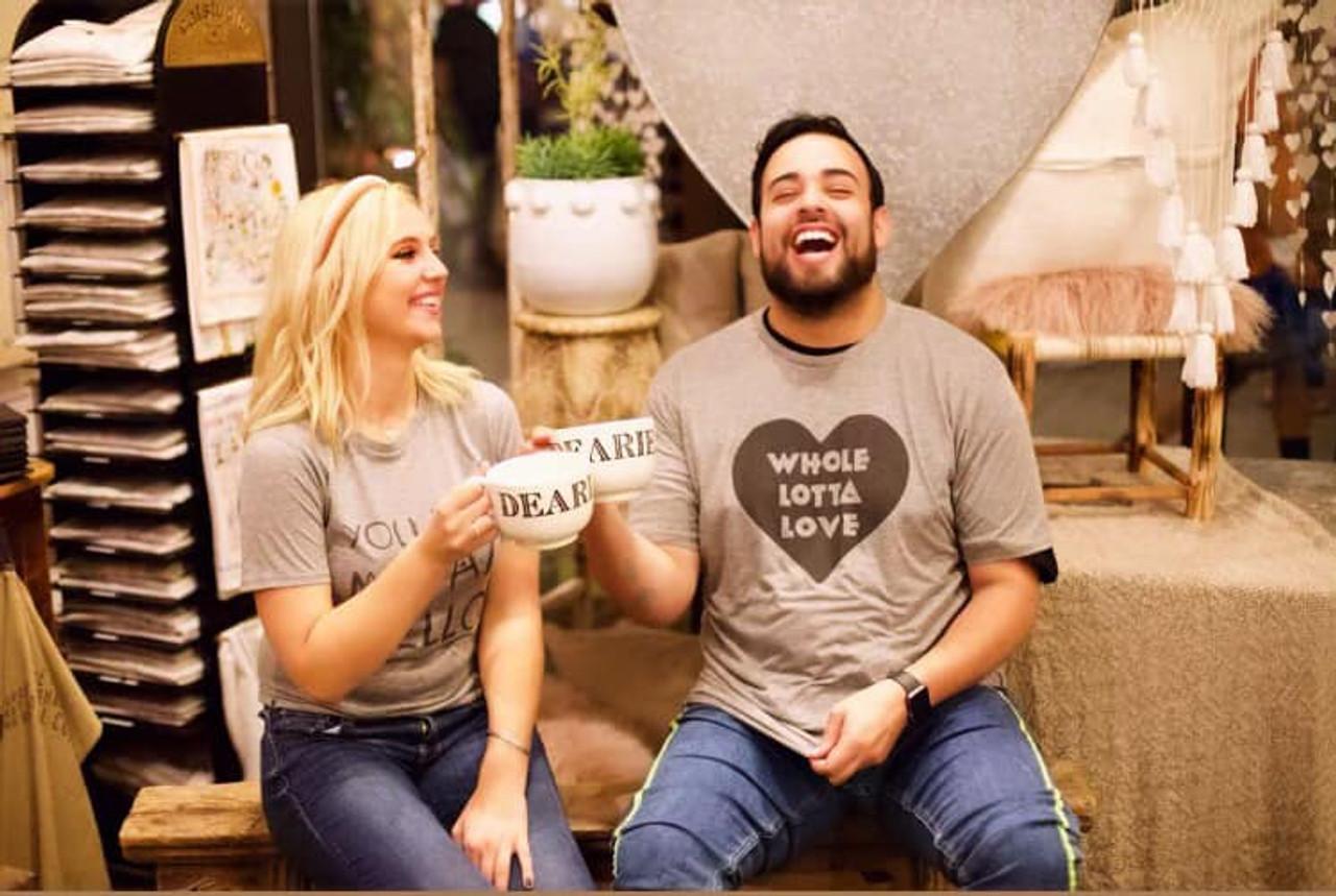 whole lotta love t-shirt