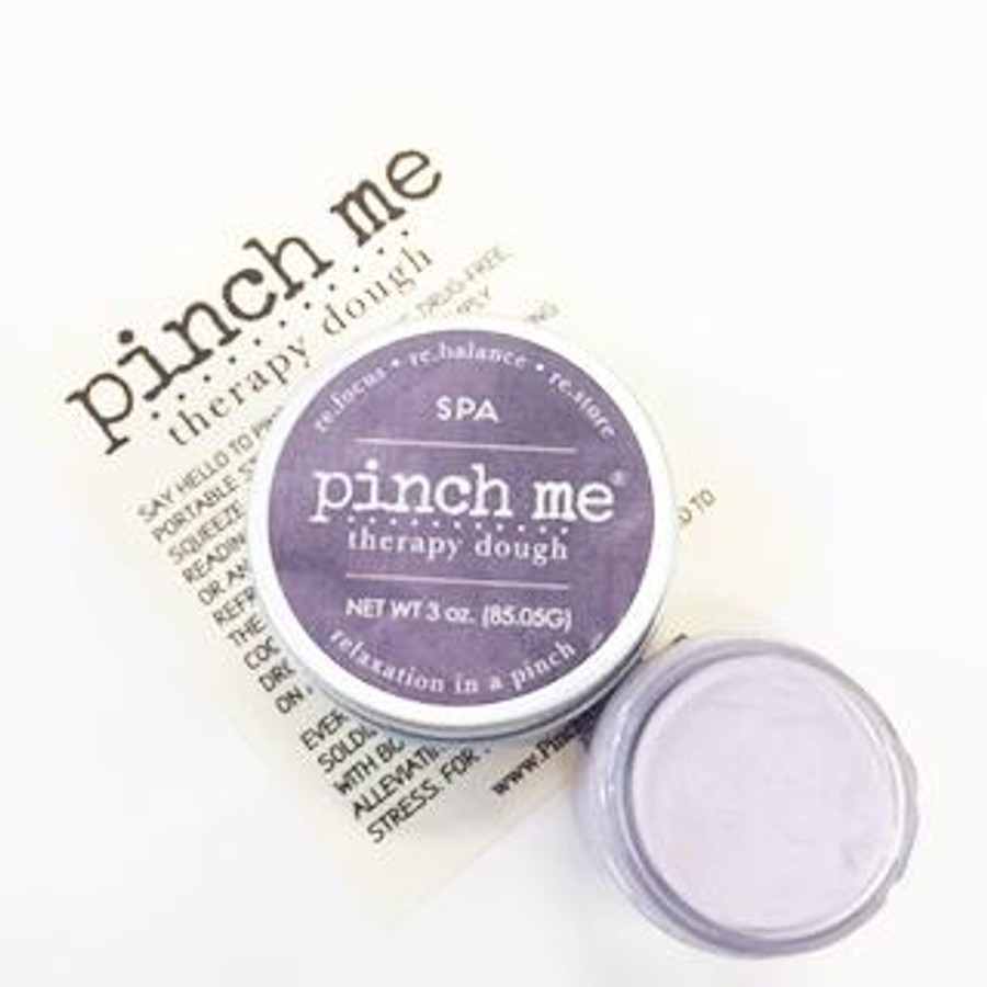 purple pinch me therapy dough