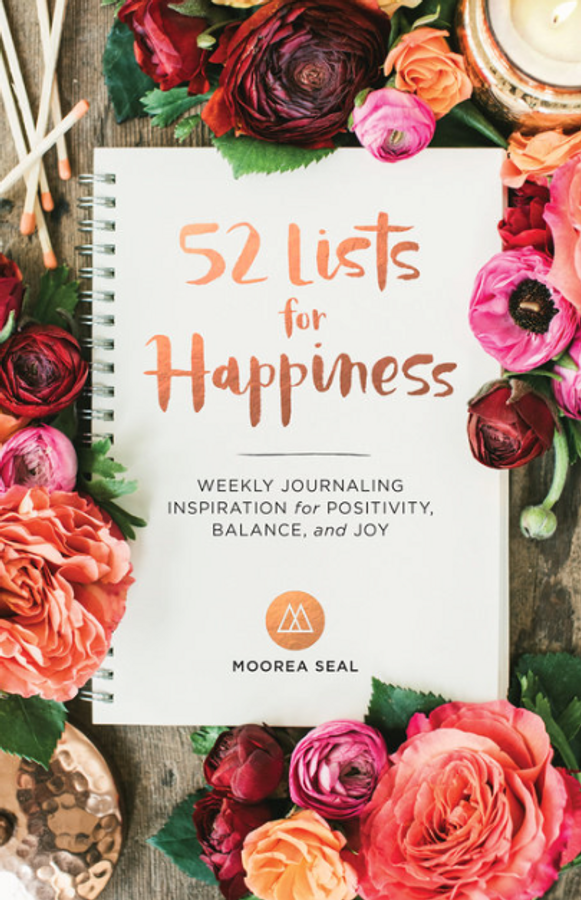 book cover with pink, orange and maroon flowers