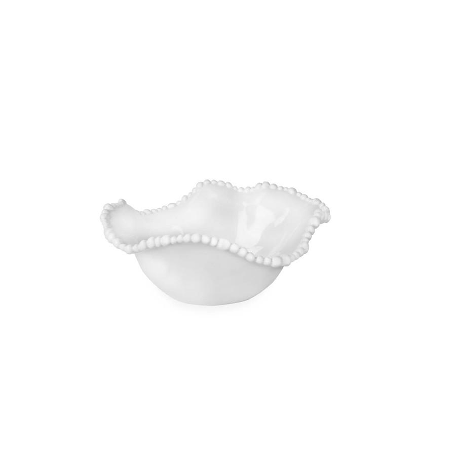melamine white bowl