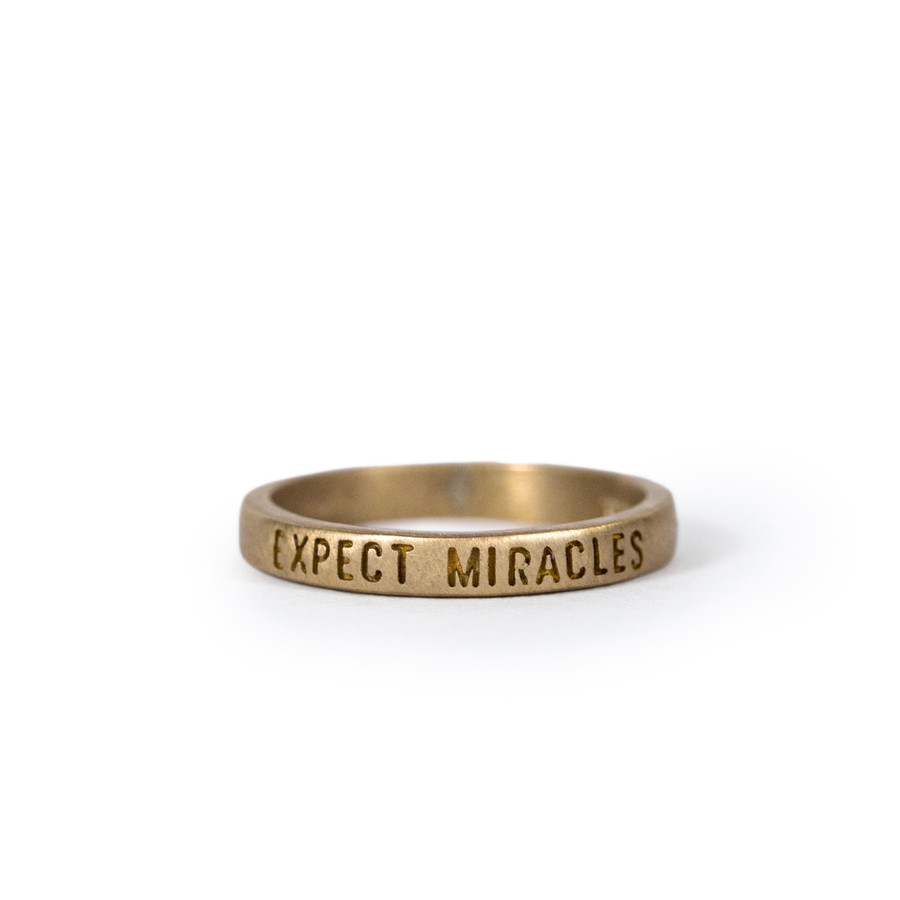 brass ring - expect miracles